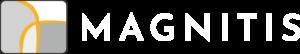 Magnitis - Logo white | Caroline Mindus